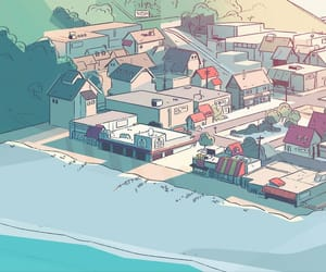 cartoons, steven universe, and beach city image