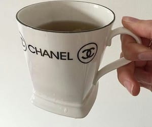 chanel, cafe, and tea image