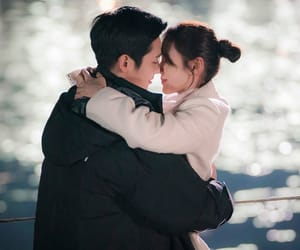 couple, Korean Drama, and lovers image