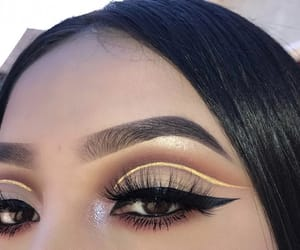 beautiful, eyeliner, and beauty image