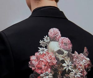 aesthetic, cloth, and flower image