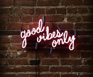 vibes, neon, and quotes image