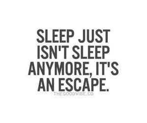 sleep, escape, and quotes image