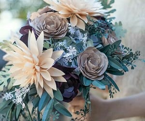 diy, flowers, and bouquet of flowers image