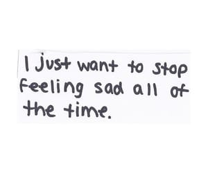 sad, quotes, and feeling image
