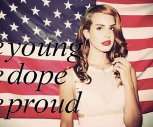 american, dope, and flag image