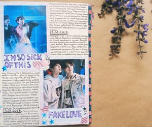 journal and bts image