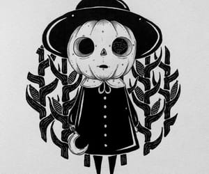 adorable, horror, and tatto image