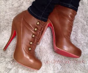 ankle boots, heels shoes, and boots image