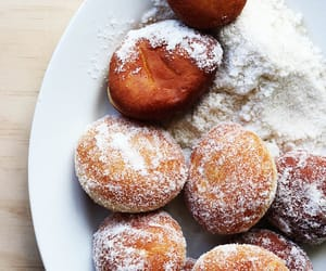 donuts, dessert, and food image