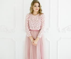 gorgeous prom dresses, prom dresses elegant, and two pieces prom dress image