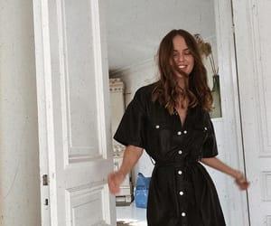 beauty, body, and black dress image