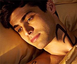 tv series, alec lightwood, and shadowhunters image