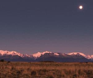 gif, sky, and moon image