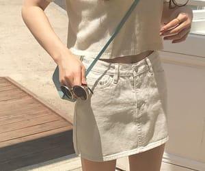 asian fashion, clothing, and skirt image