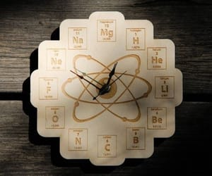 chemistry, periodic, and table image