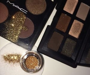 beauty, glitter, and mac image