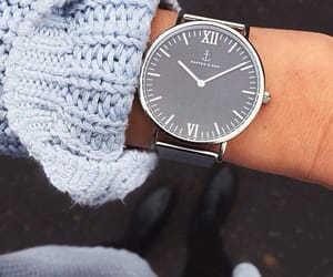 accessoires, fashion, and black watch image