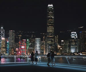 architecture, buildings, and city lights image