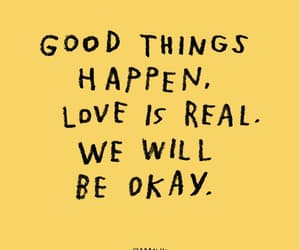 hopeful, positivity, and loveisreal image