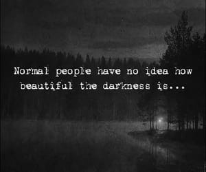 dark, quotes, and Darkness image