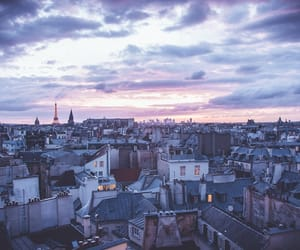landscape, city, and france image