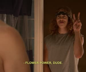 flowers, power, and hippie image