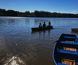 argentina, friendship, and rowing image