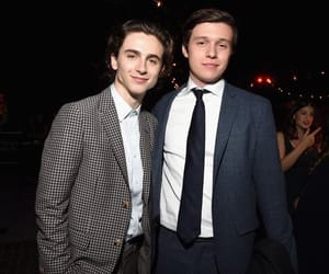 timothee chalamet, nick robinson, and call me by your name image