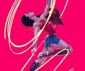 wonder woman, DC, and dc comics image