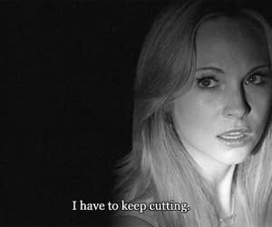 cut, cutting, and depression image