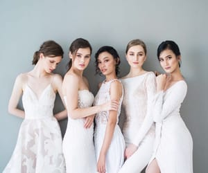 bride, collection, and weddingdress image