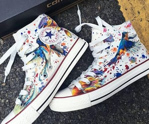 bird, converse, and outfits image