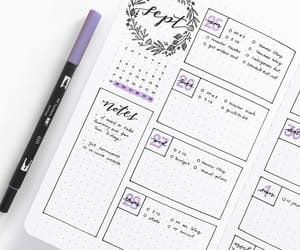 journal, planner, and planning image