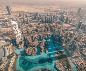 building, Dubai, and photography image