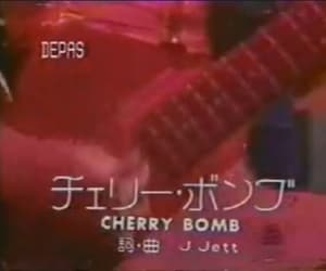 red, retro, and cherry bomb image
