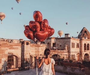 aesthetic, balloons, and freedom image