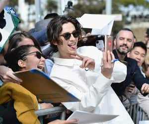 fan, off white, and thimothee chalamet image