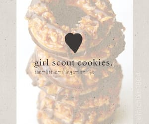 chocolate, Cookies, and girl scout cookies image