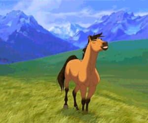 animation, stallion of the cimarron, and badass image