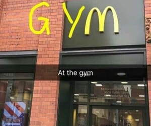 food, funny, and gym image