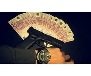 gun, tess, and money image