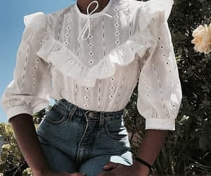 blouse, indie, and outfit image