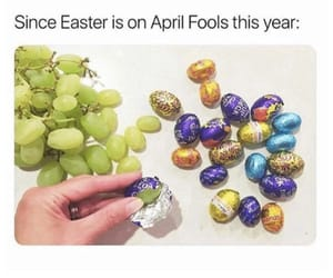 april, easter, and crazy image