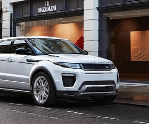 range rover, white, and car image