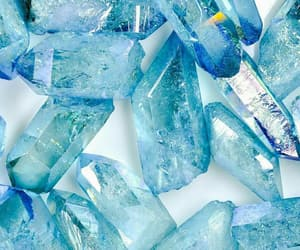 beautiful, blue, and cristals image