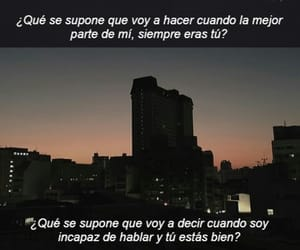 frases, nigth, and sky image