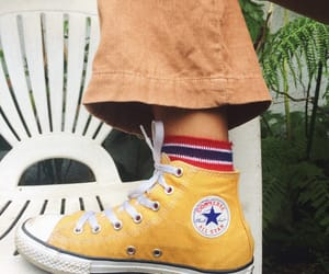 chuck taylors, converse, and indie image