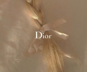 beige, dior, and brown image