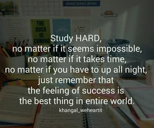 study, school, and motivation image